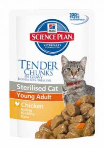 Hill's - Science Plan - Sterilised Cat Young Adult - 12 x 85 g